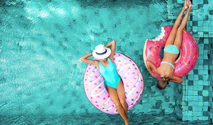 Aquastyles - magasin Jeux d'eau Bouées et matelas